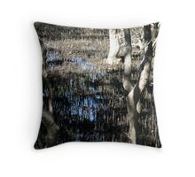 Marshy Mangroves in the Park Throw Pillow
