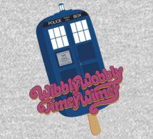 Wibbly Wobbly Timey Wimey Pop Kids Tee