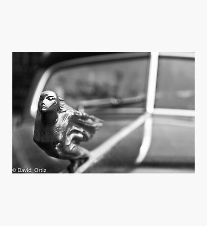 Cadillac Ornament Photographic Print