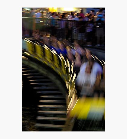 The Wooden Coaster Photographic Print