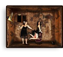 Boxed World Collection - Image 15 - Hanky Spanky Canvas Print