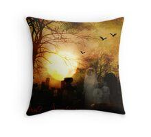 Celebrate Samhain Throw Pillow