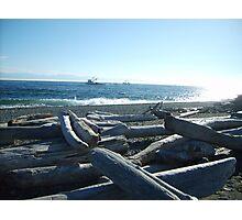 Fishing Boats at South Beach Photographic Print