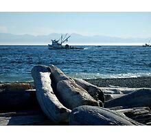 Fishing Boats at South Beach 2 Photographic Print