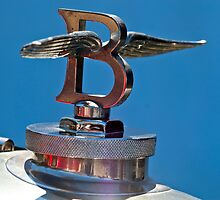 1927 Bentley 6.5 Liter Sports Tourer Hood Ornament by Jill Reger