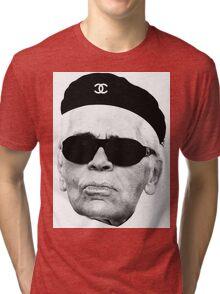 Hasta Karl Siempre Tri-blend T-Shirt