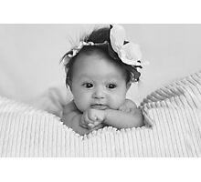 Little miss L :) Photographic Print
