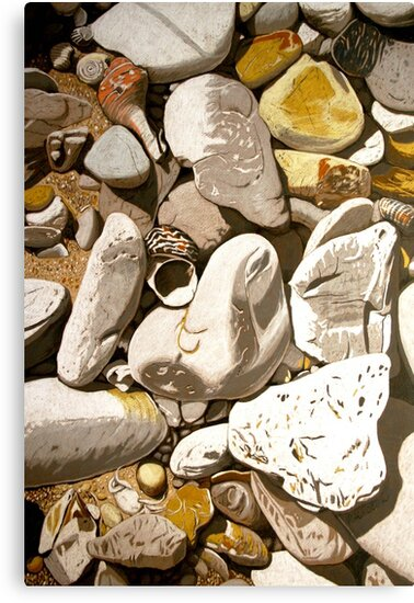 Beachcombing by Richard Klekociuk