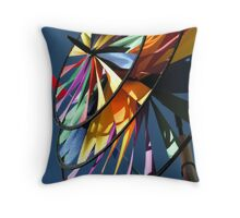 Pinwheel Windmill at the Faire Throw Pillow