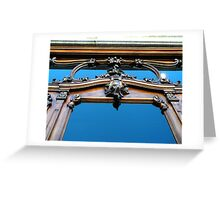 """Facade of Antiques Store"" Greeting Card"