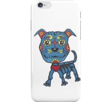Day of the Dead Pit Bull iPhone Case/Skin