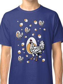 Retro Roseanne Chickens Classic T-Shirt