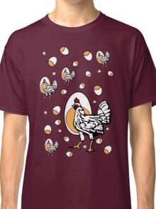 Retro Roseanne Chickens Classic T-Shirt