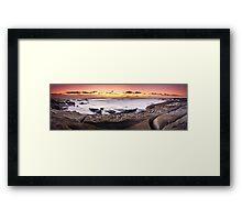 """Caloundra Dawn"" ∞ Caloundra, QLD - Australia Framed Print"