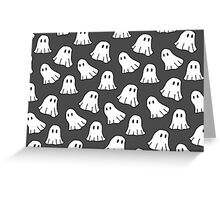 Spooky Spooky Ghosts Greeting Card