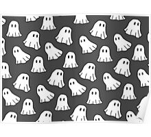 Spooky Spooky Ghosts Poster