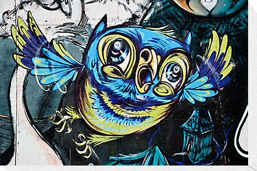 Graffiti Owl by yurix