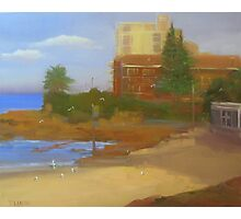 Afternoon sun, South Cronulla beach Photographic Print