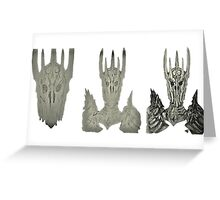 Sauron project Greeting Card