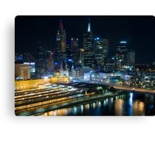 Melbourne @ Most Canvas Print