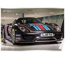 Porsche 918 Spyder - Porsche Museum Poster