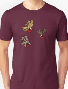 Heart Birds Unisex T-Shirt
