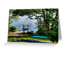 Muskoka Greeting Card