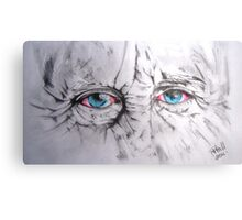 The eyes! Canvas Print