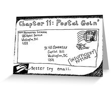 Chapter 11: Postal Goin' Greeting Card