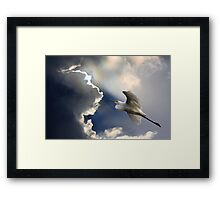 Heavens Gateway Framed Print
