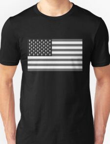 Goth Bless America B/W Unisex T-Shirt