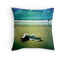 Gone Walkabout Throw Pillow