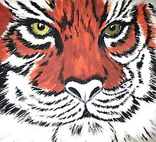 Fierce Eye of the Tiger by Kimberly Carey