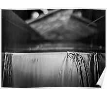 cascade: water & light Poster