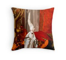 Halloween background  Throw Pillow