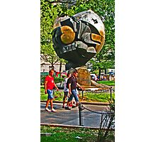 """The Sphere"" sculpture - Battery Park - New York, New York Photographic Print"