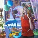 """The Birthday"" oil on canvas, 2004 by fiona vermeeren"