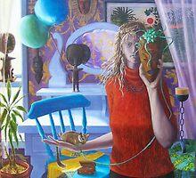 """The Birthday"" oil on canvas, 2004 by fiona vermeeren"