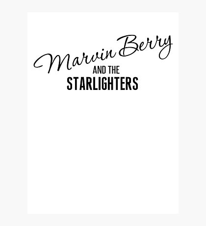 Marvin Berry and the Starlighters Photographic Print