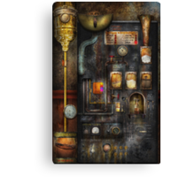 Steampunk - All that for a cup of coffee Canvas Print