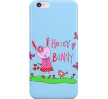 Honey bunny iPhone Case/Skin