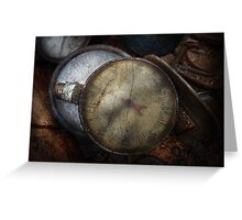 Steampunk - Gauge for sale Greeting Card