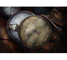 Steampunk - Gauge for sale Photographic Print