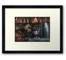 Steampunk - Industrial Society Framed Print