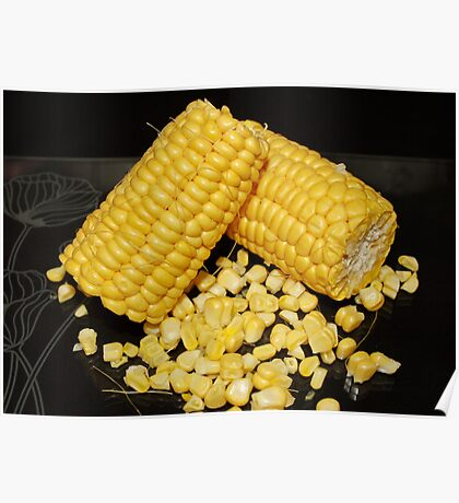 Sweetcorn : Fresh and Sweet Poster