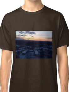 Larravide Snowy Sunset Md Classic T-Shirt