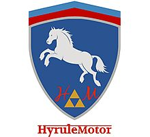 Hyrule Motors  Photographic Print
