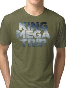 King Megatrip Neo Logo - Mosaic Tri-blend T-Shirt