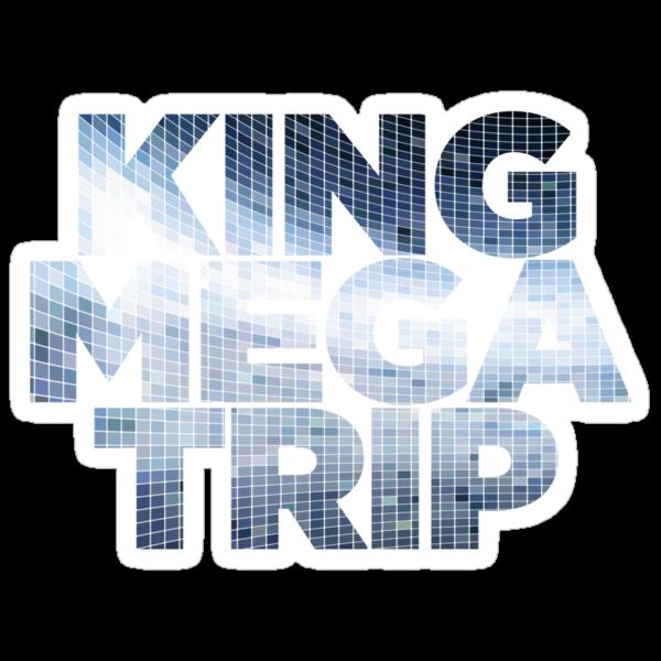 King Megatrip Neo Logo - Mosaic by Megatrip