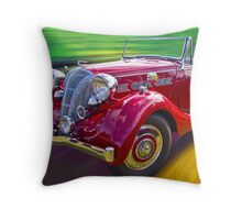 1938 Triumph Dolomite Throw Pillow